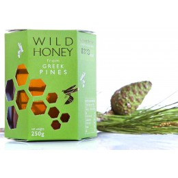 Karpos Co. Wild Honey from Greek Pines 250g