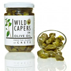Organic Wild Capers from Crete 140g
