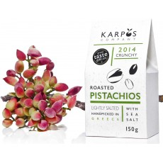 Karpos Co. Greek Pistachios Roasted and Salted 150g