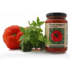 Organic Sieved Tomato with Basil 330gr