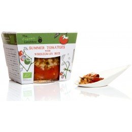 "Organic Summer Tomato with Wholegrain Rice ""Gemista"" 330g"